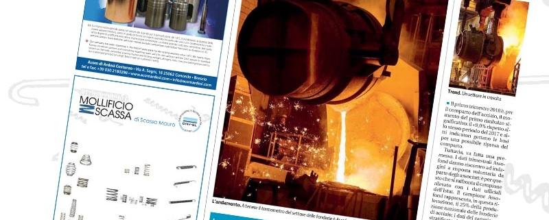 Giornale di Brescia - Speciale meccaniche e fonderie - Mollificio Scassa