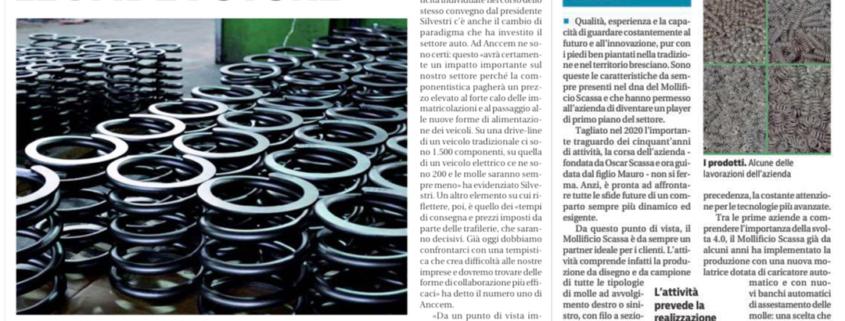 Speciale Mollificio Giornale di Brescia
